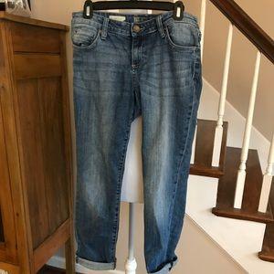 Kut from the Kloth Boyfriend jeans. Size 8